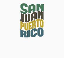 San Juan Puerto Rico Retro Wave Unisex T-Shirt