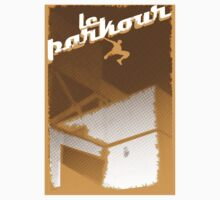 Parkour print by Komiksar