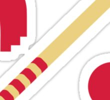 Croquet equipment Sticker