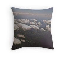 The World From Above  Throw Pillow