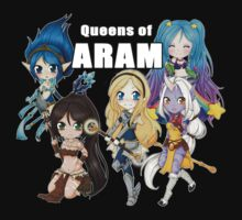 Queens of ARAM - League of Legends by linkitty