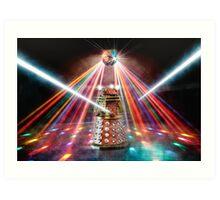 Disco Dalek Art Print