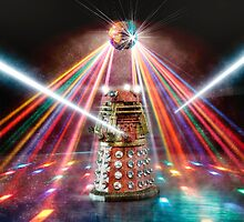 Disco Dalek by BadWolfs