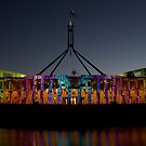 New Parliament House by Melanie Roberts
