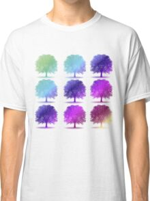 tree isolated over white Classic T-Shirt