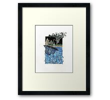 Current Express Framed Print