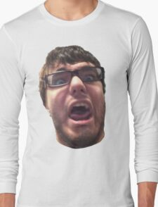 Dumb Ray Face Long Sleeve T-Shirt