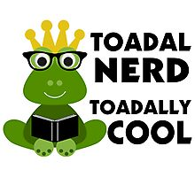 Toadal Nerd Toadally Cool Photographic Print