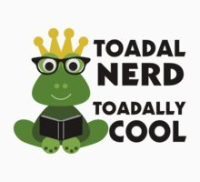 Toadal Nerd Toadally Cool by FireFoxxy