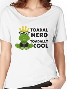 Toadal Nerd Toadally Cool Women's Relaxed Fit T-Shirt