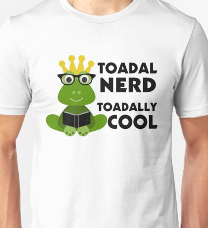Toadal Nerd Toadally Cool Unisex T-Shirt