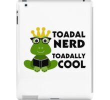 Toadal Nerd Toadally Cool iPad Case/Skin