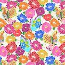 Butterflies & Flowers by Lydia Meiying