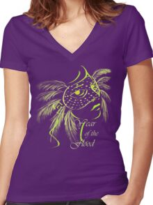 Year of the Flood Women's Fitted V-Neck T-Shirt