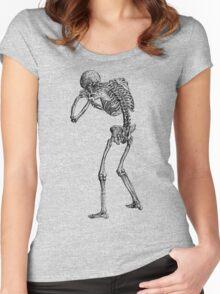 Mr. Bones Women's Fitted Scoop T-Shirt