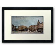 Mornings of Segovia Framed Print