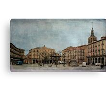 Mornings of Segovia Canvas Print
