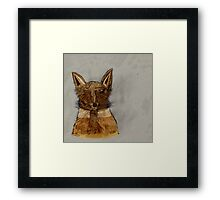 The Wolf and the Fox Framed Print