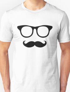 Nerdy Mustache Man T-Shirt