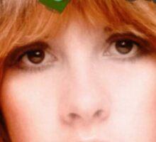 Stevie Nicks Flowers Sticker
