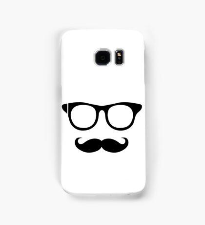Nerdy Mustache Man Samsung Galaxy Case/Skin
