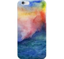Torrent - Abstract Watercolor Ocean Painting iPhone Case/Skin
