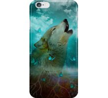 I'll See You In My Dreams (Wolf Howl) iPhone Case/Skin