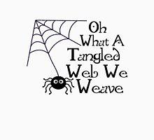 Tangled Web Spider Unisex T-Shirt