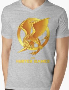 the Hunter Games Mens V-Neck T-Shirt