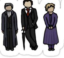 Sherlock Cast Sticker