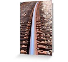 train track Greeting Card