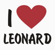 I Love Leonard by penguinua