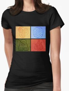 Avatar Elements Womens Fitted T-Shirt