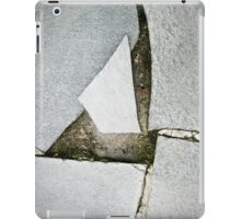 mirror shards ground iPad Case/Skin