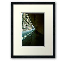 Bishop Lane Framed Print