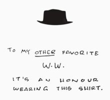 To my other favorite W.W. (HAT) by Théo Proupain