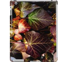 red leaves landscape format iPad Case/Skin