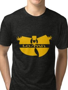 Lo Pan Clan (yellow) Tri-blend T-Shirt