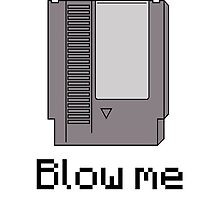 Nes cart- blow me by DERPkitten