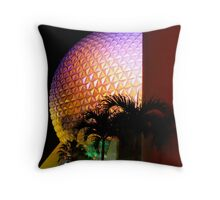 Epcot Art Deco Throw Pillow