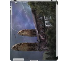 Nafets Nuarb against children abuse iPad Case/Skin
