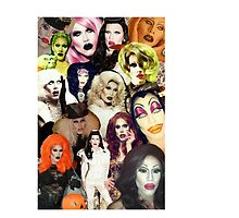 Sharon Needles Collage Case by DragAndGaga