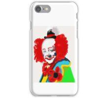 Happy clown iPhone Case/Skin