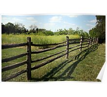 A Mount Vernon Fence Poster