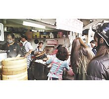 Breakfast Rush (Taipei, Taiwan) Photographic Print