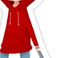 Red Riding Hood Stiles Sticker