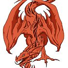 Red Dragon by ArtisticCole