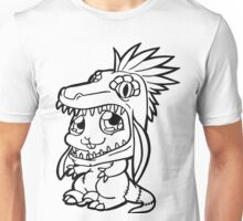 Cute Bunny Raptor Suit Unisex T-Shirt