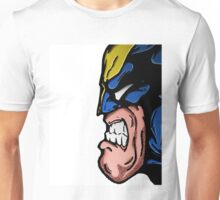 Marvel's Wolverine Comic Styled Profile Unisex T-Shirt