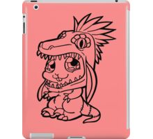 Cute Bunny Raptor Suit iPad Case/Skin